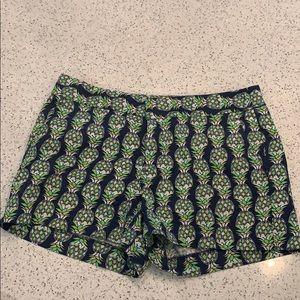 Banana Republic Pineapple Shorts